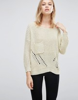 Love & Other Things Loose Knit Sweater