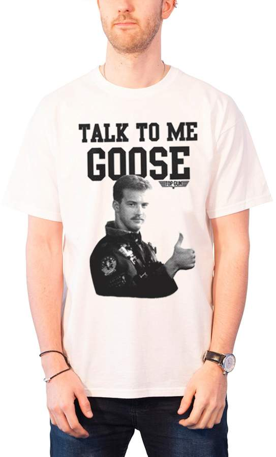Top Gun T Shirt Talk To Me Goose new Official Mens