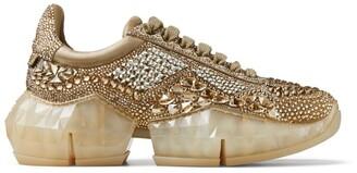 Jimmy Choo Embellished Diamond/F Sneakers