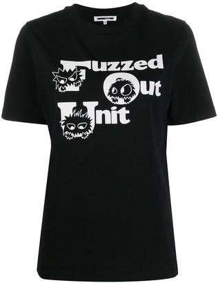 McQ Swallow Fuzzed Out Unit T-shirt
