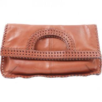 Diane von Furstenberg Brown Leather Clutch bags