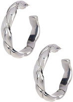 Simon Sebbag Sterling Silver Braided Hoop Earrings