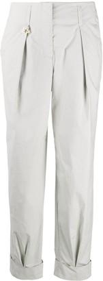Lorena Antoniazzi High-Rise Straight Trousers