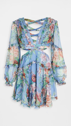Zimmermann Bellitude Floating Cutout Dress