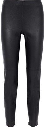 Elie Tahari Roxanna Stretch-leather Leggings