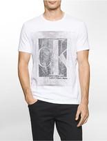 Calvin Klein Slim Fit Crackled Logo T-Shirt
