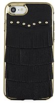 Rebecca Minkoff Fringe Leather Studded iPhone 7 Case