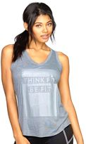 Colosseum Women's Think Fit Graphic Yoga Tank