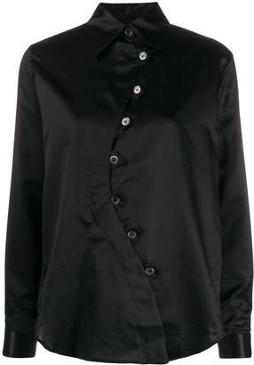 Aalto Asymmetric Pointed-Collar Shirt