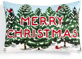 Holiday Lane Merry Christmas Decorative Pillow, Created for Macy's