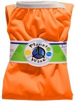 Planet Wise Reusable Diaper Pail Liner, Orange by Planet Wise Inc.