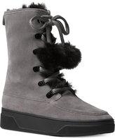 MICHAEL Michael Kors Juno Lace-Up Boots