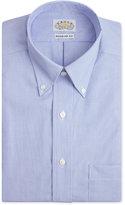Eagle Men's Classic-Fit Non-Iron Blue Feather Dress Shirt