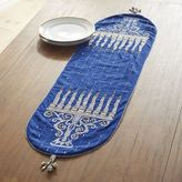 Pier 1 Imports Hanukkah Embroidered Menorah Table Runner