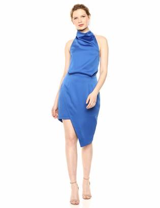Elliatt Women's Apparel Women's CAMO Sleevless Halter Neck Blouson Short Dress