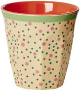 Rice Melamine Dotted Cup