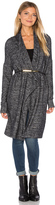Velvet by Graham & Spencer Dejavu Long Sleeve Front Draped Cardigan