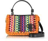 Emilio Pucci Multicolor Cotton Blend Shoulder Bag