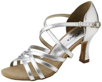 So Danca Women's BL164 Ballroom & Latin Shoes, Silver (Silver Silver), 4 ()