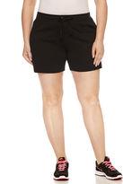 Spalding 6 Loose Fit Cotton Blend Bermuda Shorts-Plus
