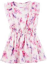 Osh Kosh Floral Chiffon Dress