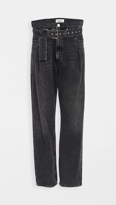 AGOLDE Reworked 90's Paperbag Jeans
