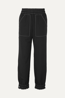 Ganni Shell Track Pants - Black