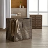 Crate & Barrel Dixon Bamboo Hampers with Liner