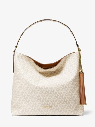 MICHAEL Michael Kors Brooklyn Large Logo Shoulder Bag