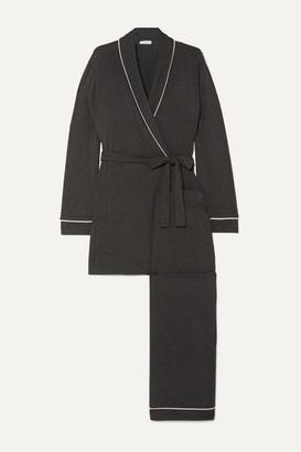 Eberjey Gisele Stretch-modal Pajama Set - Charcoal