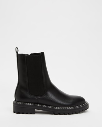 Dazie - Women's Black Chelsea Boots - Marc Ankle Boots - Size 5 at The Iconic