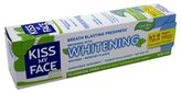 Kiss My Face Gel Teeth Whitening Toothpaste, Fluoride Free Toothpaste, 4.5 Ounce