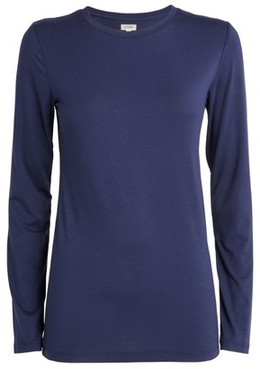 L'Agence Tess Long-Sleeve T-Shirt