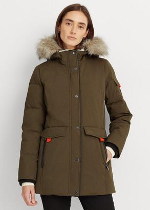 Ralph Lauren Contrast Heavy Down Coat