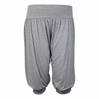 FLAVES FASHION (FF11) Women 3/4 Hareem Ali Baba Loose Baggy Trousers Pants Ladies Crop Shorts Leggings (UK S/M 8-10