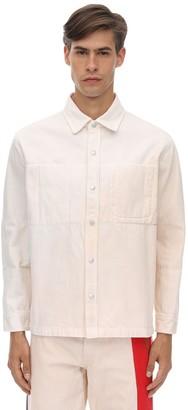 Gr Uniforma X Diesel Red Tag Cotton Canvas Shirt