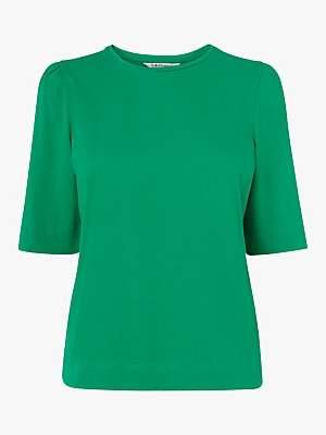 LK Bennett L.K.Bennett Saigon Ruched Sleeve T-Shirt