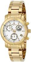 Burgmeister Women's BM524-219 Analog Display Analog Quartz Gold Watch