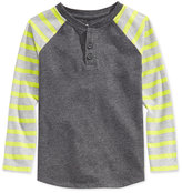 Epic Threads Little Boys' Stripe Henley, Only at Macy's