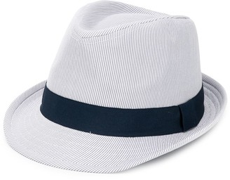Lapin House Striped Fedora Hat
