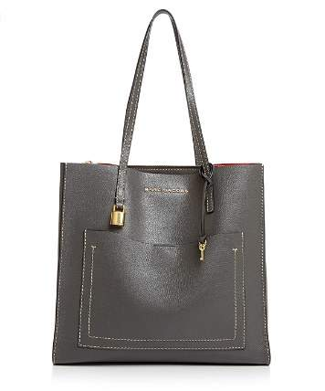 Marc Jacobs Grind T-Pocket Leather Tote