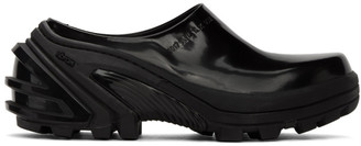 Alyx Black Leather Clogs