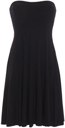 Norma Kamali Strapless Stretch-jersey Mini Dress