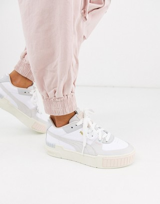 Puma Cali Sport chunky trainers in pastel
