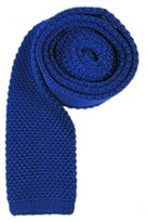 The Tie Bar Royal Blue Knitted Tie