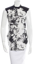 Jeremy Laing Printed Button-Up Top