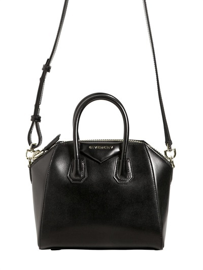 Givenchy Mini Antigona Leather Shoulder Bag