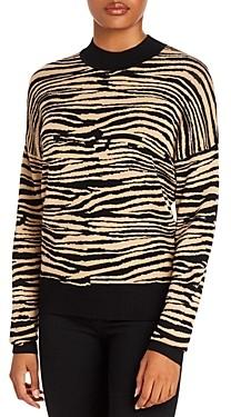 WAYF Vincent Tiger Intarsia Sweater