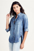 True Religion Relaxed Utility Womens Shirt