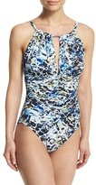 Magicsuit Kat Sea Glass Printed One-Piece Swimsuit